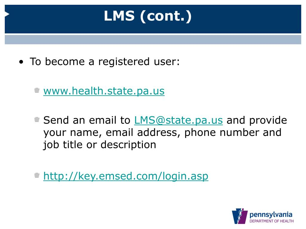 LMS (cont.)
