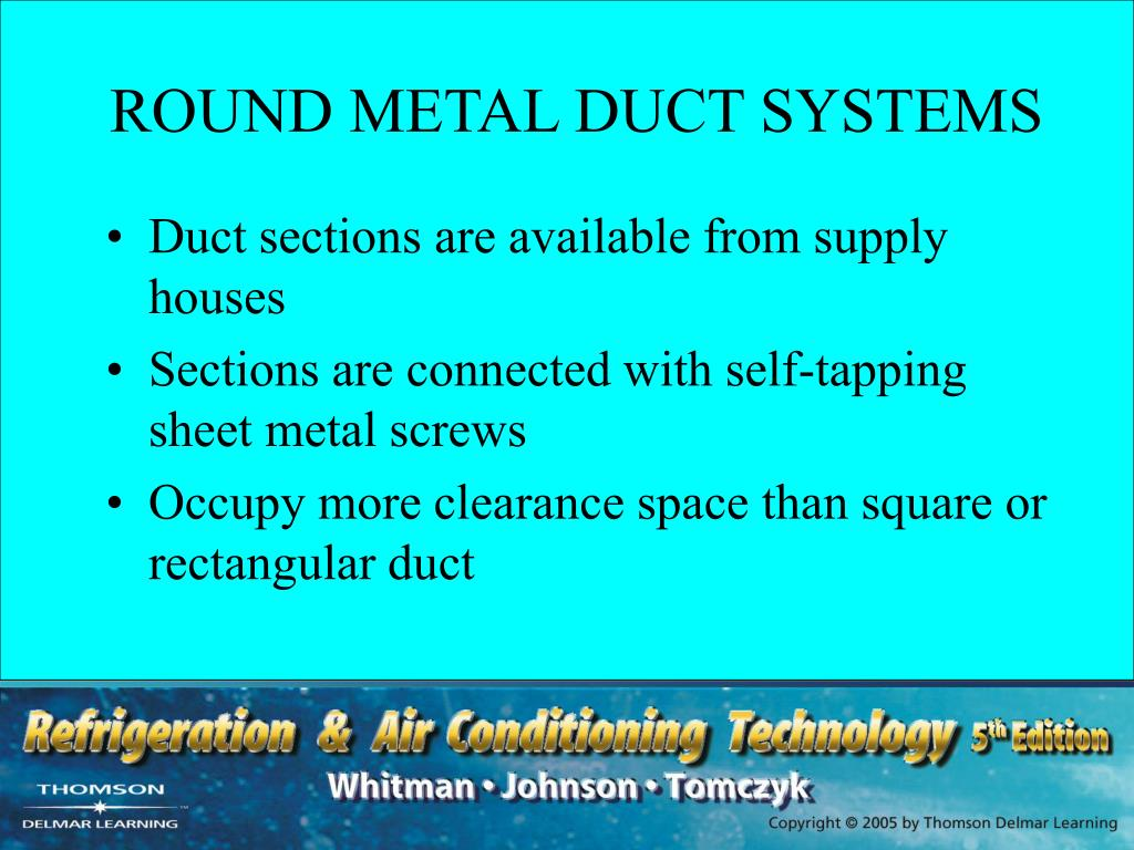 ROUND METAL DUCT SYSTEMS