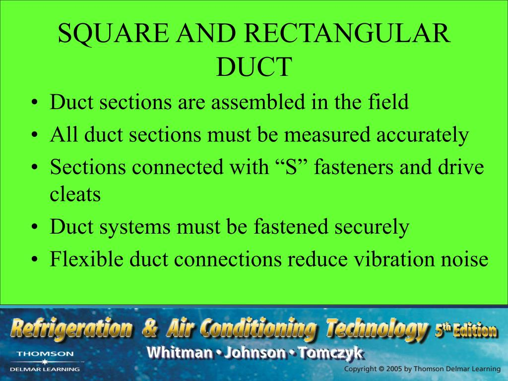 SQUARE AND RECTANGULAR DUCT