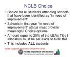 nclb choice