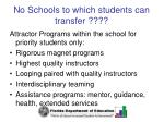 no schools to which students can transfer59