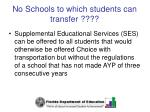 no schools to which students can transfer61