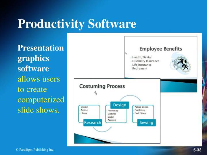 Productivity Software