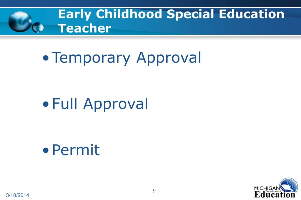 Early Childhood Special Education Teacher