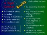 4 right conduct