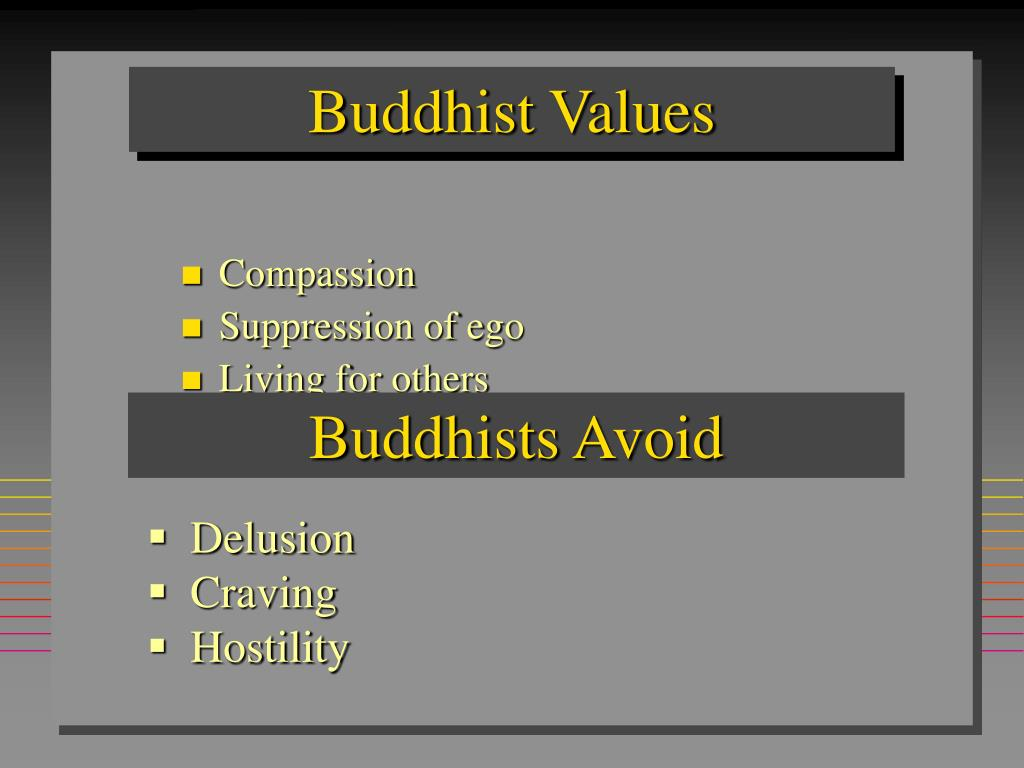 Buddhist Values