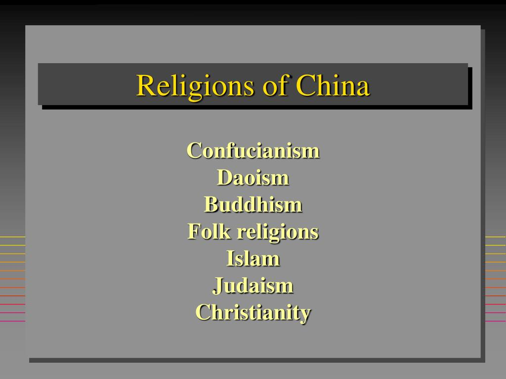 religions of china l.