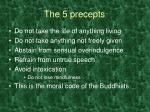 the 5 precepts