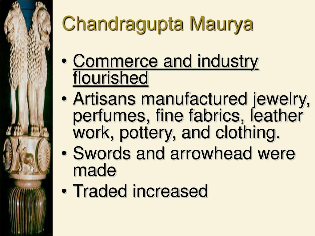 Commerce and industry flourished