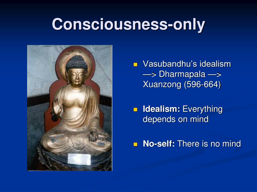 Consciousness-only