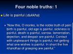 four noble truths 1