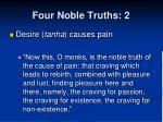 four noble truths 2