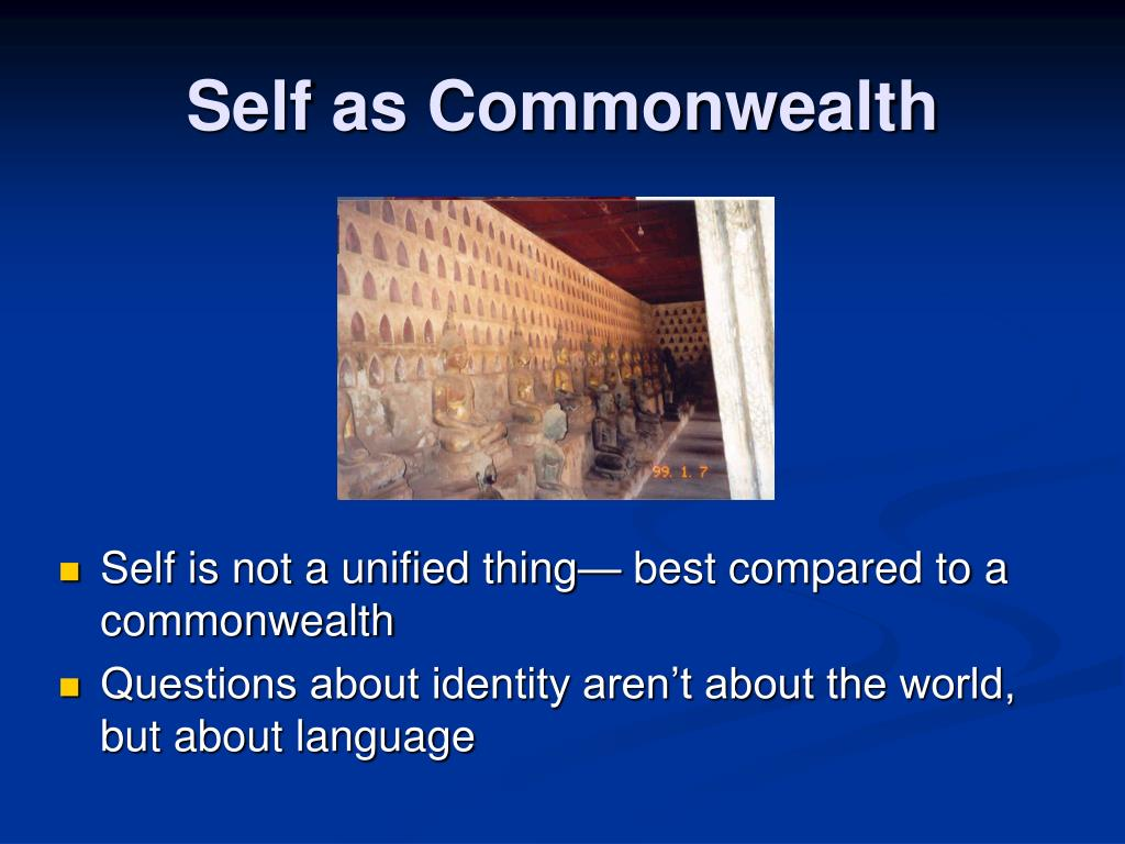 Self as Commonwealth
