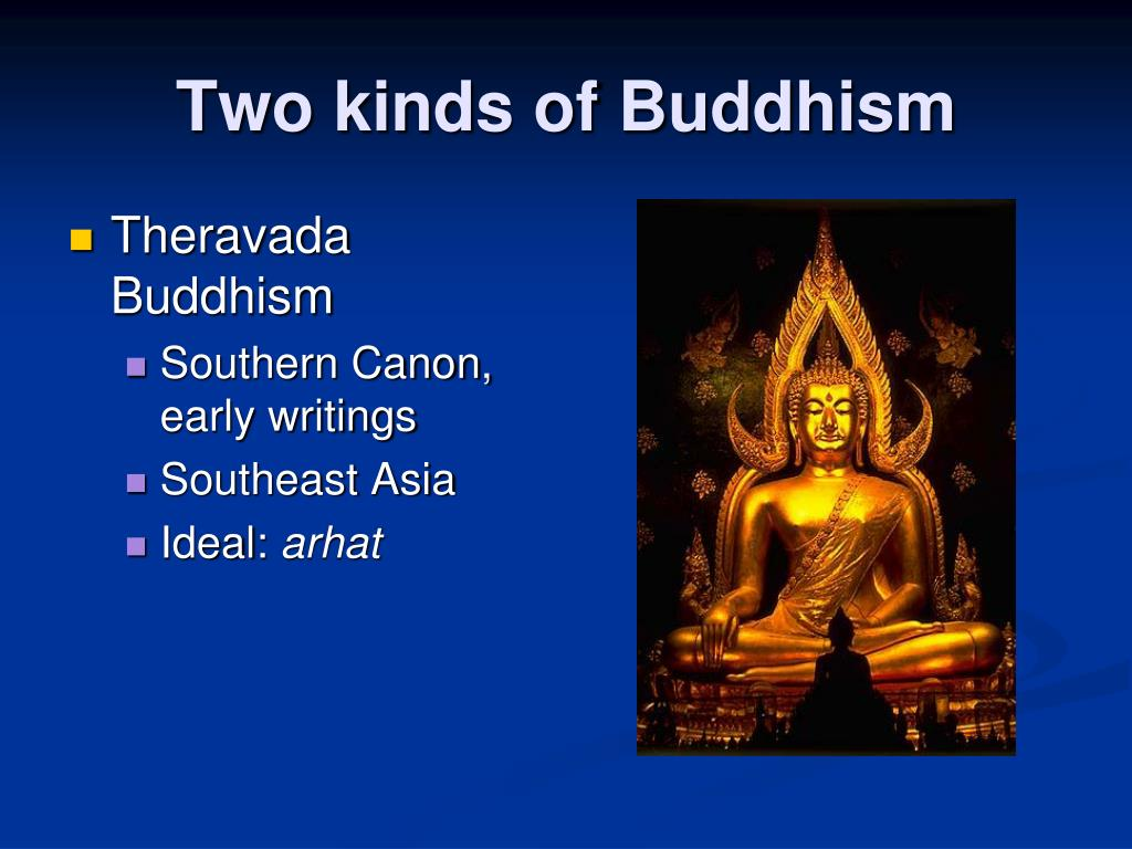 Two kinds of Buddhism