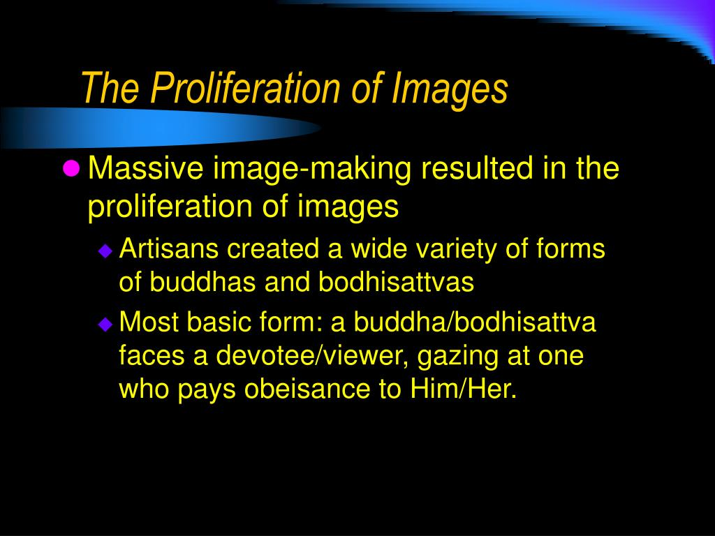 The Proliferation of Images