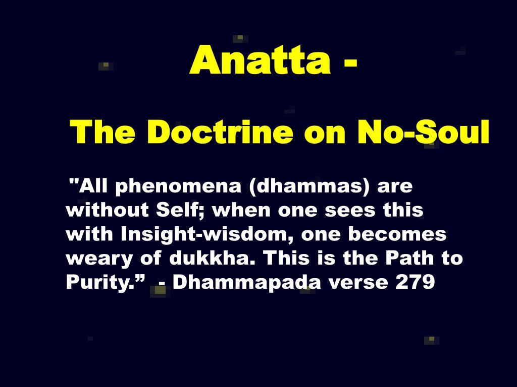 Anatta -
