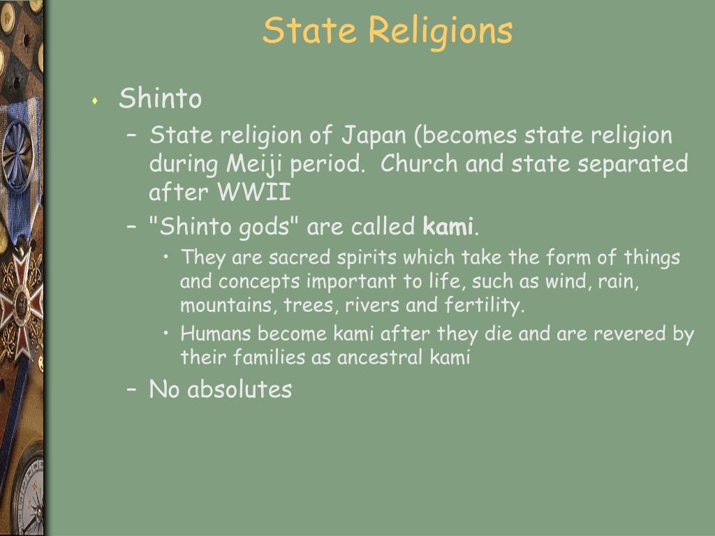 State Religions