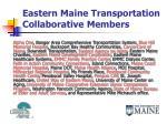 eastern maine transportation collaborative members