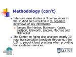 methodology con t1