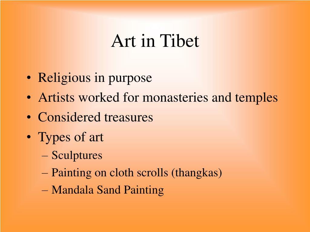 Art in Tibet