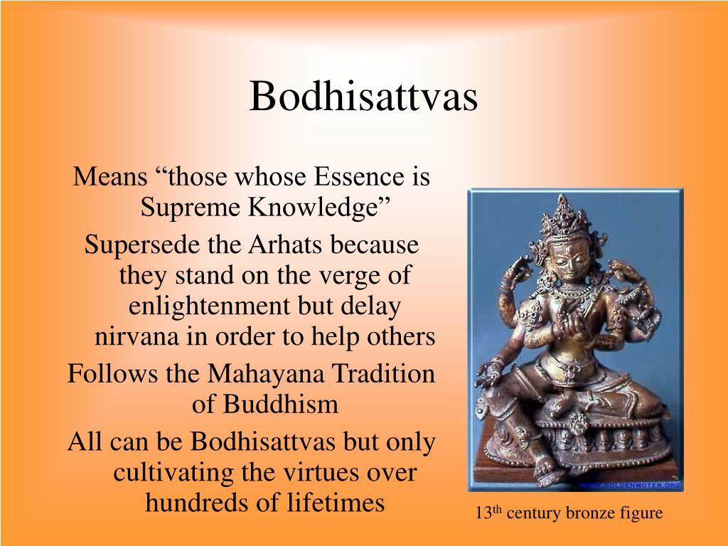 Bodhisattvas