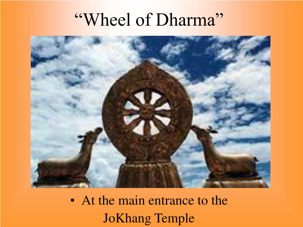 """Wheel of Dharma"""