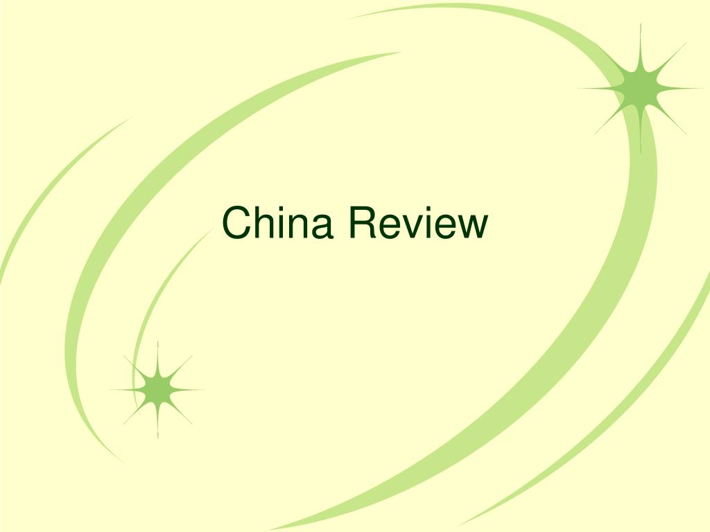 china review l.