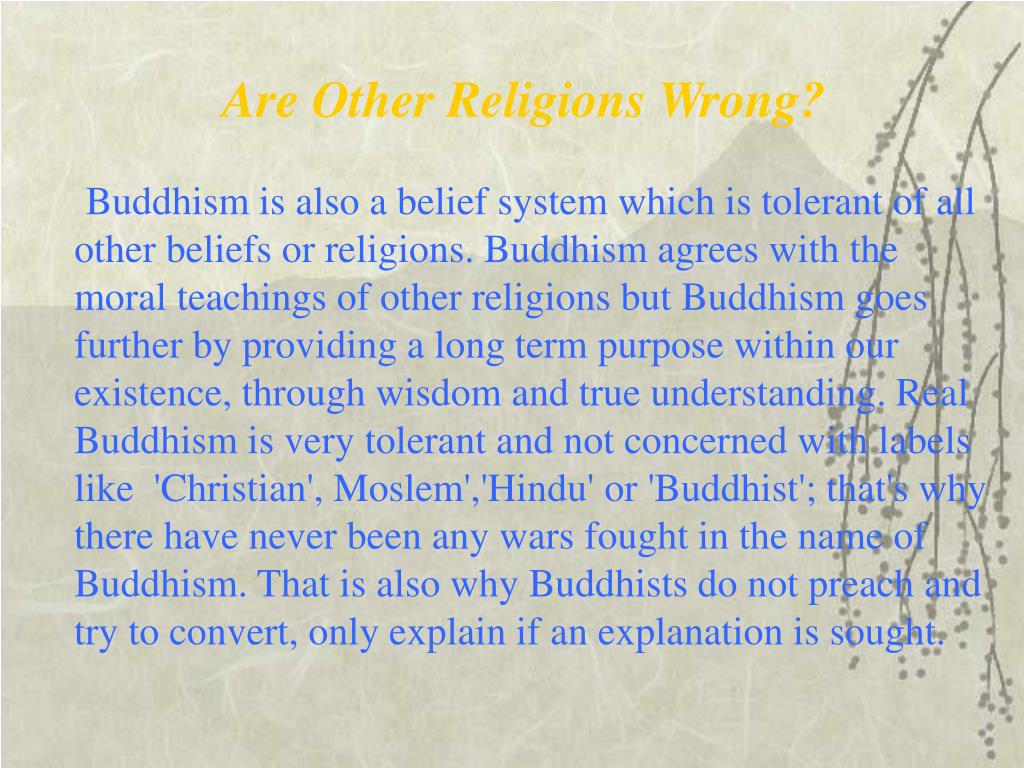 Are Other Religions Wrong?