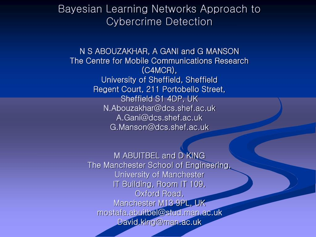 Bayesian Learning Networks Approach to