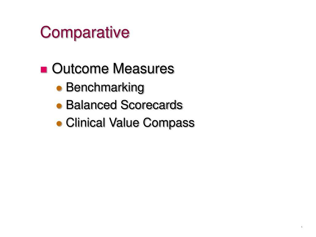 Comparative
