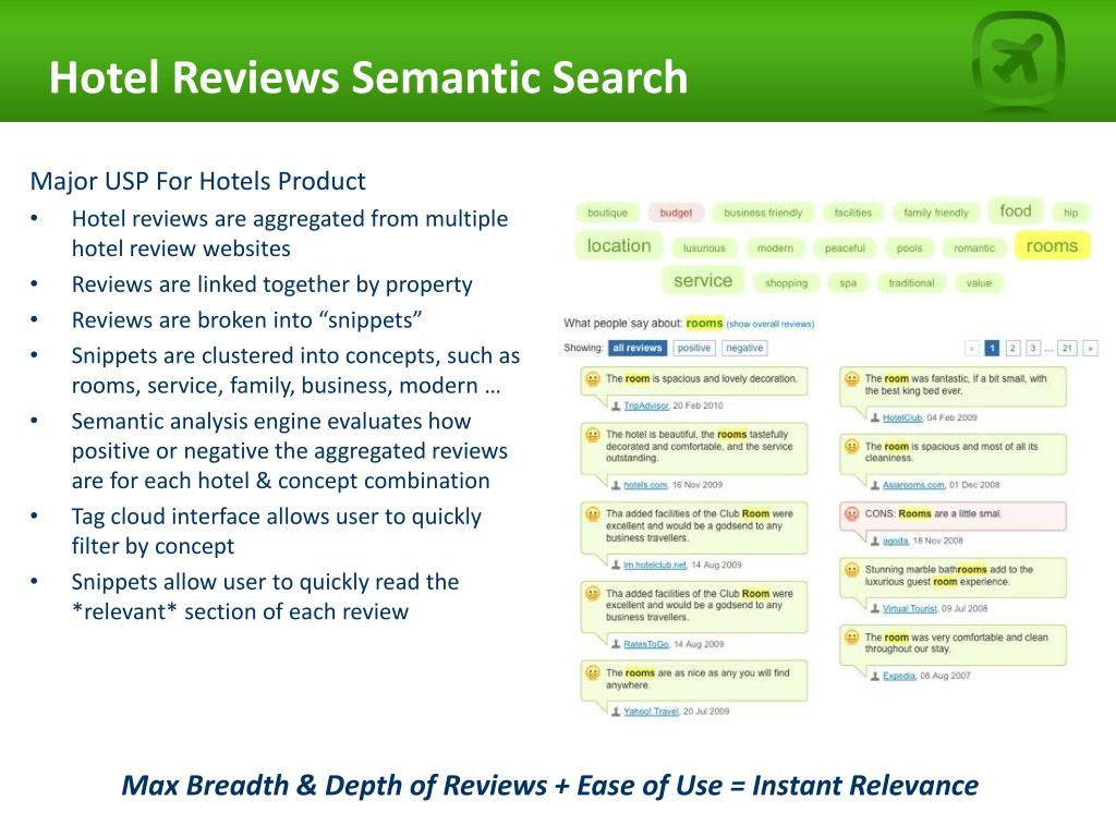Hotel Reviews Semantic Search