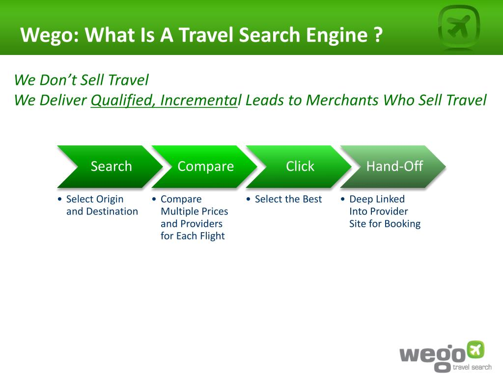 Wego: What Is A Travel Search Engine ?