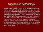 augustinian soteriology