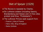 diet of speyer 1529