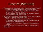 henry iv 1589 1610