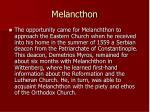 melancthon
