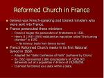 reformed church in france