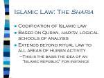 islamic law the sharia