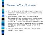 swahili city states