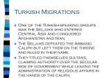 turkish migrations71