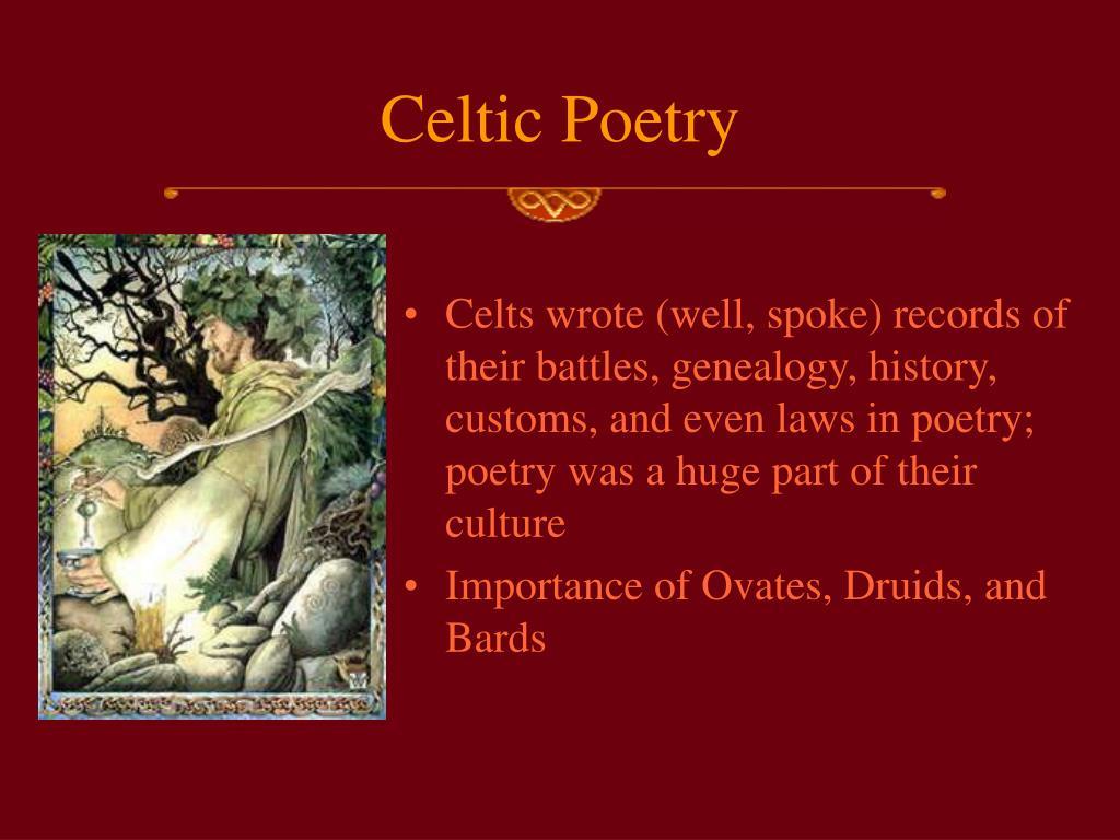 Celtic Poetry