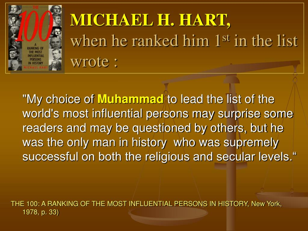 MICHAEL H. HART,