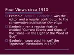 four views circa 191038