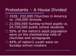 protestants a house divided