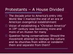 protestants a house divided23