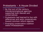 protestants a house divided24