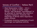 voices of conflict yellow peril11