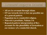 covenantal imagery as universal