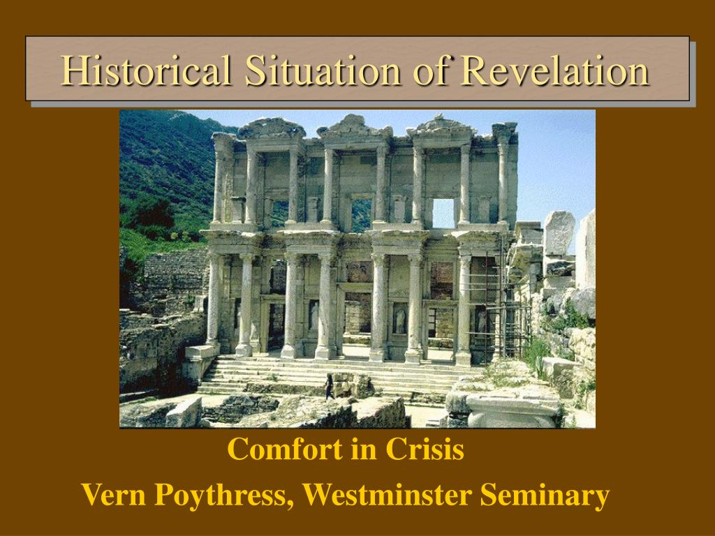 historical situation of revelation l.