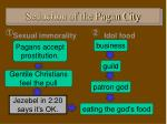 seduction of the pagan city